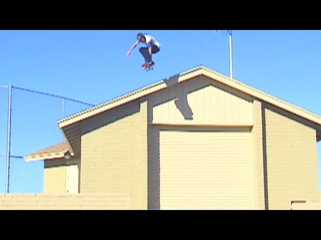 "Aaron ""Jaws"" Homoki Criddler On The Roof"