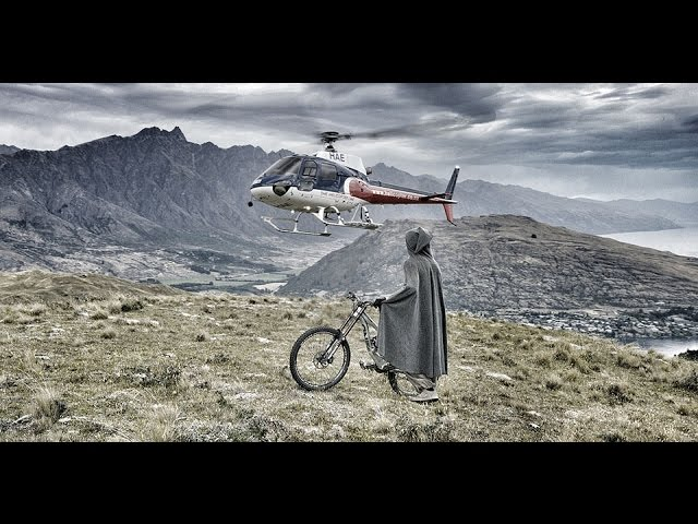 Hobbit Heli-Biking New Zealand