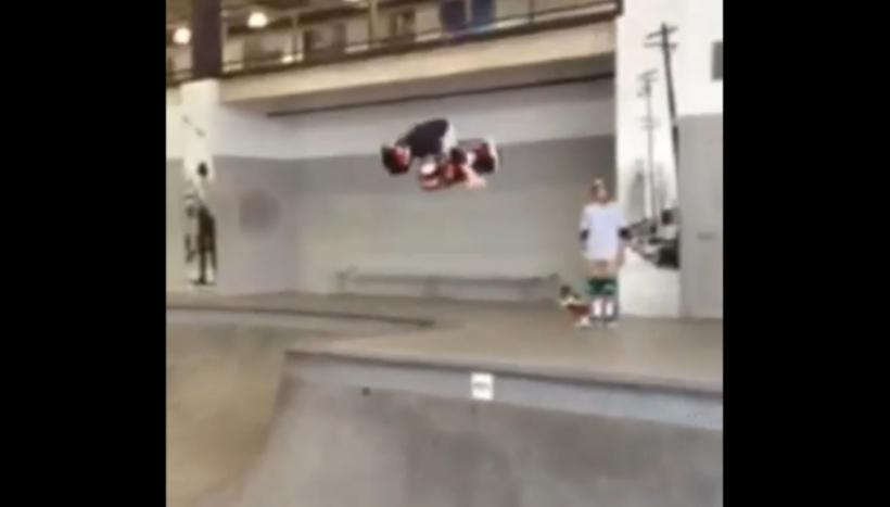 11-Year-Old Lands First Ever Concrete Bowl 900