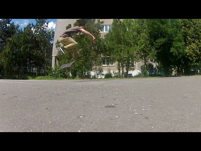 FAKIE BS BIGSPIN DOUBLE FLIP!