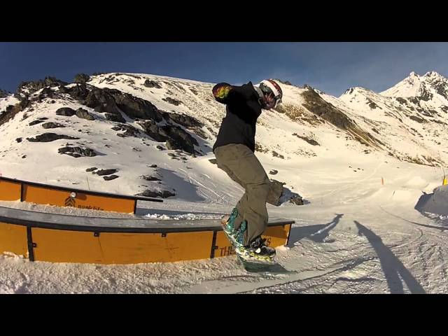 Snowboarding New Zealand - JUST LIKE BUTTER - Quee