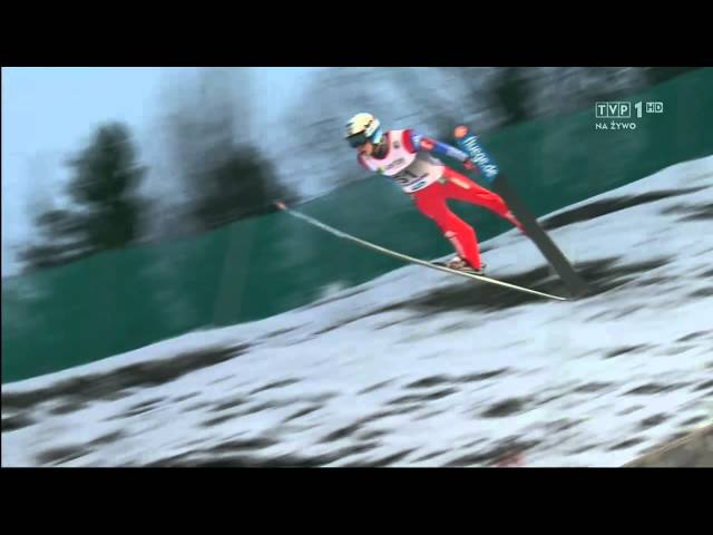 New World Record Ski Jump