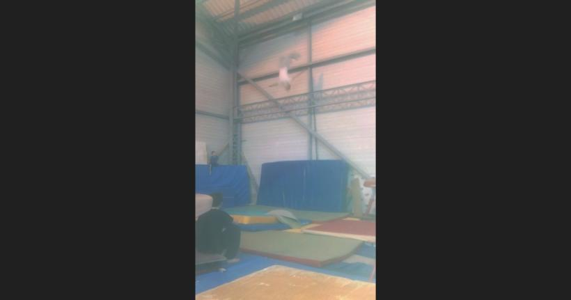 Backflip ≈ 6m in gym