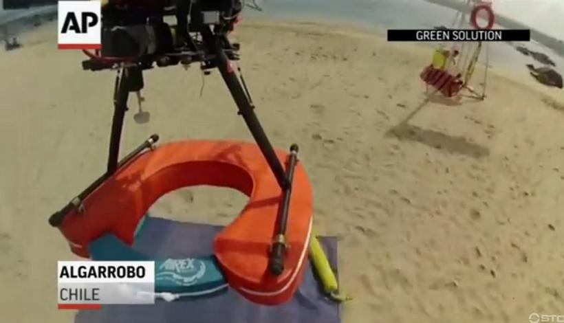 Lifeguard Drone to the Rescue