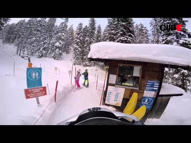 Snowboarding Alpspitze Garmisch Partenkirchen