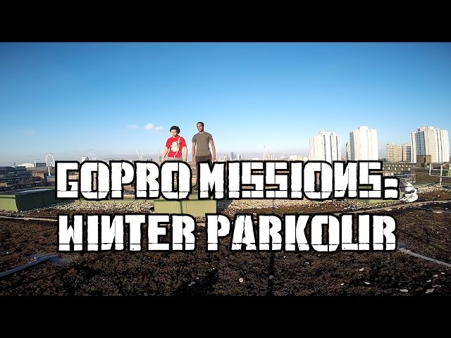 GOPRO MISSIONS: WINTER PARKOUR