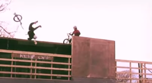 Brutal BMX Barrel Roll Crash: Alex Coleborn