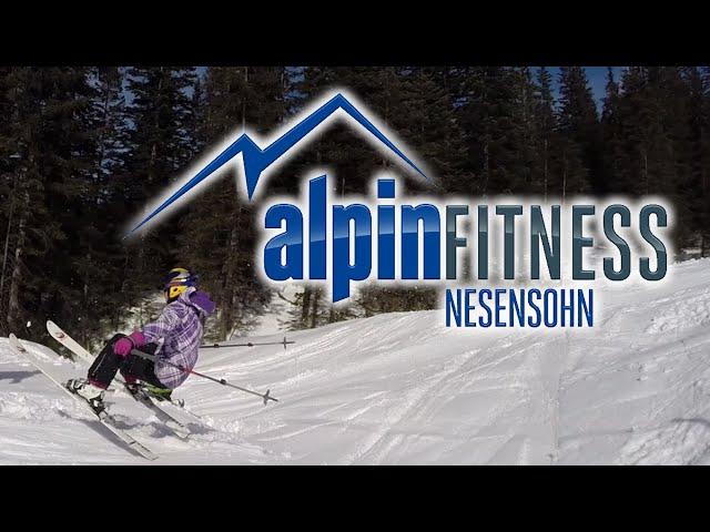 cool skiing kids, just for fun