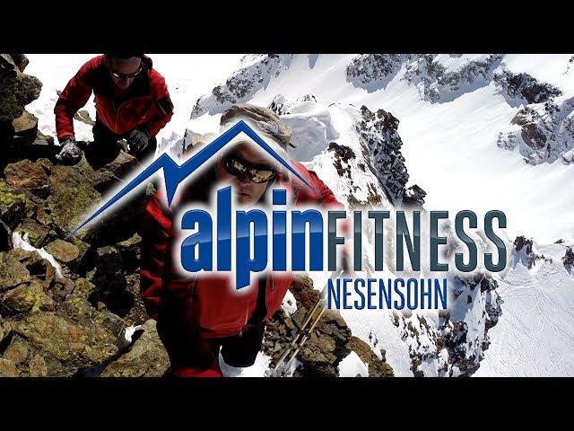 "Ski tour ""Rauher Kopf"" Silvretta Alps 3101m"