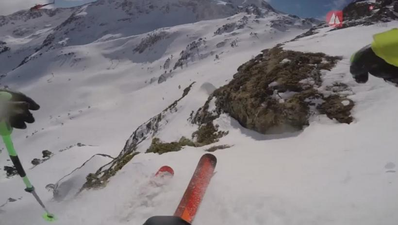 Best Competition Ski Line Ever?