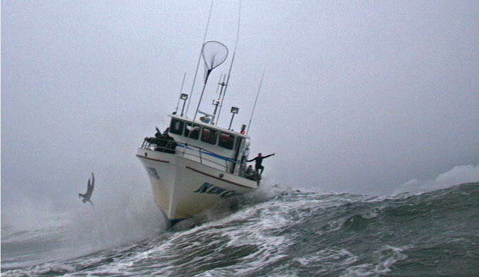 Mark Healey Thrown Off The Boat At Mavericks