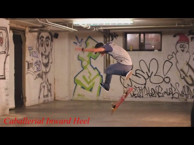 FABIAN DOERIG AWESOME TECHNICAL SKATEBOARDING