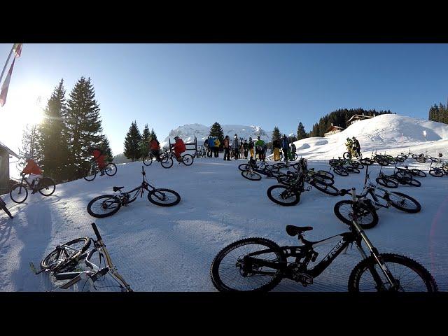 Morning Flow Ride Davos 2015