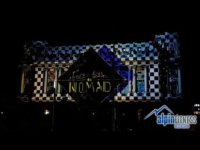 3D Light Show / Cercul Militar National / Bukarest