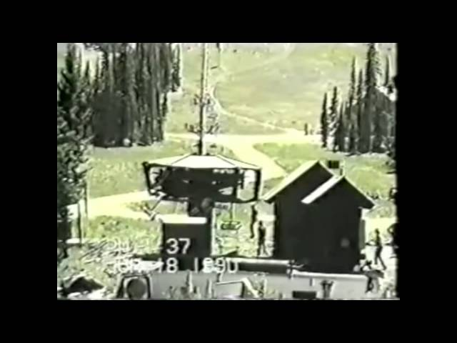 Crazy Rollback Of A Chairlift!