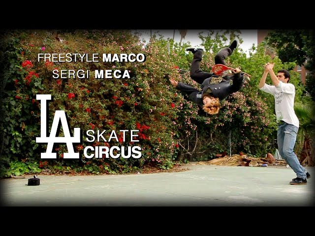 sergi meca freestyle marco skate circus video stoked the social media network for. Black Bedroom Furniture Sets. Home Design Ideas