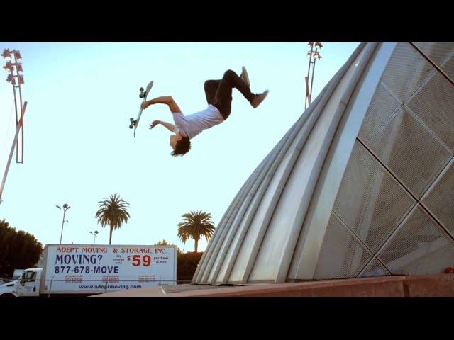 William Spencer Spider-Man's Skating Stunt Double