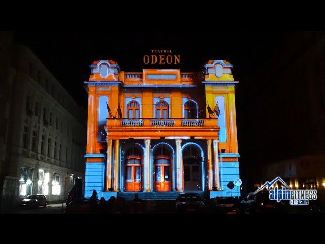 3D Light Show / ODEON Theatre / Bukarest - Romania