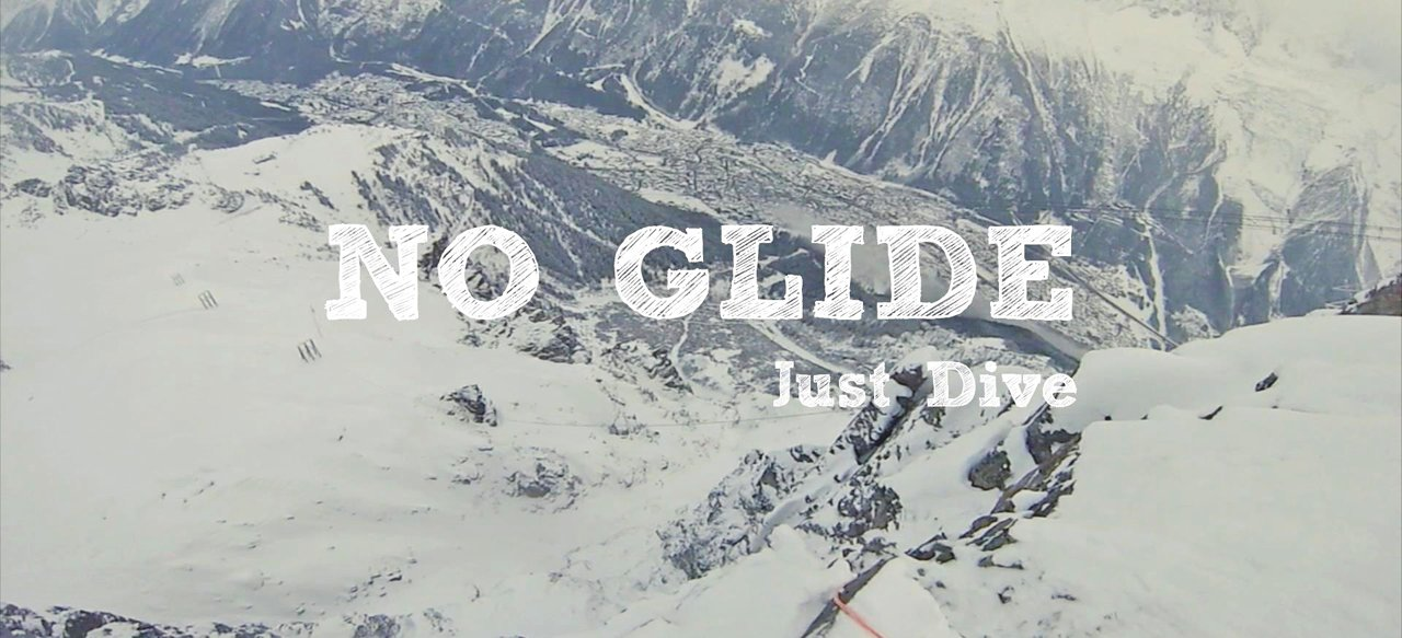 No Glide Just Dive Chamonix Wingsuit Flight