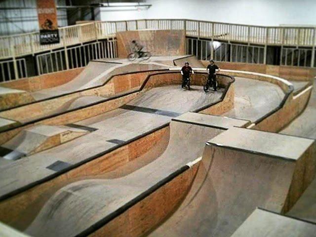 Epic Indoor Bike Park | Foam Pit, Pump track etc.