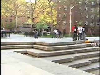 NYC skateboarding montage CLASSIC footy
