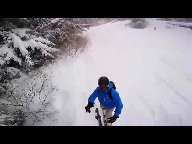 Snowboarder Captures The Impossible