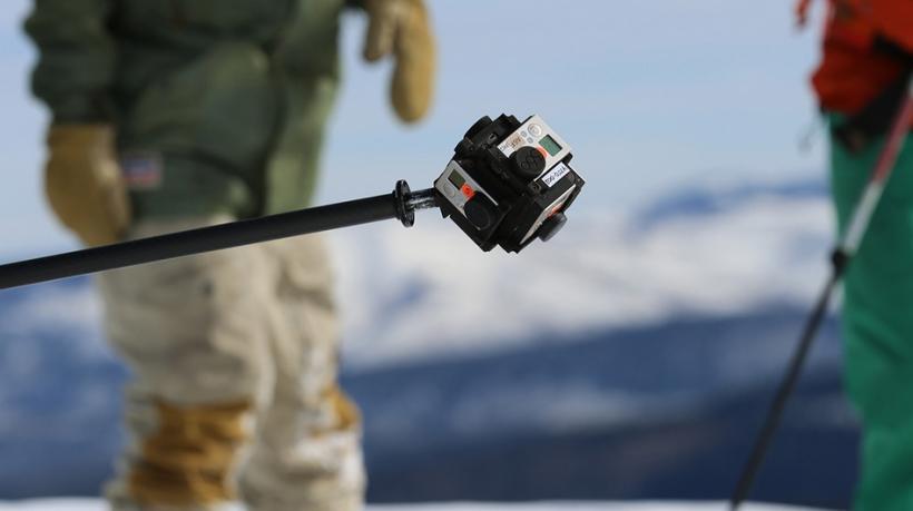 Virtual Reality Backcountry Snowboarding Teaser