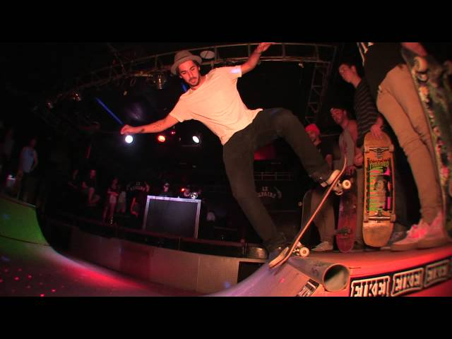 Opening party 2015 Technical Skateboards Tour