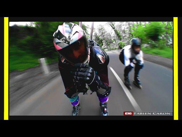 Rollerblade downhill - TraininWorld Cup IIDA