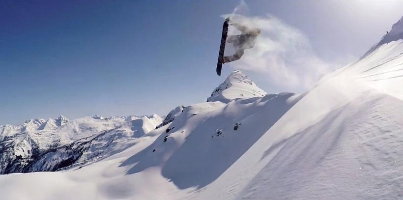Travis Rice Gets The Perfect GoPro Shot
