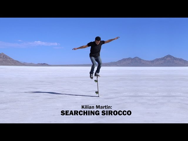 Kilian Martin Searching Sirocco