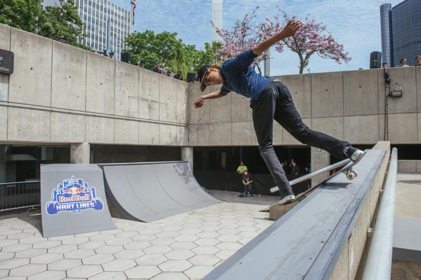 Curren Caples Wins Red Bull Hart Lines In Detroit