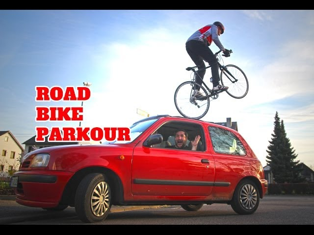 Road Bike Parkour - Max Schrom