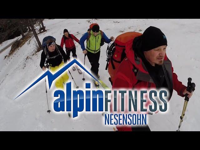 "Skitour ""Schafberg"" Gargellen Montafon"