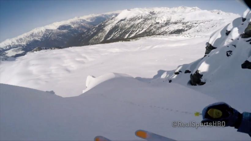 Chris Davenport on GoPro HBO Real Sports