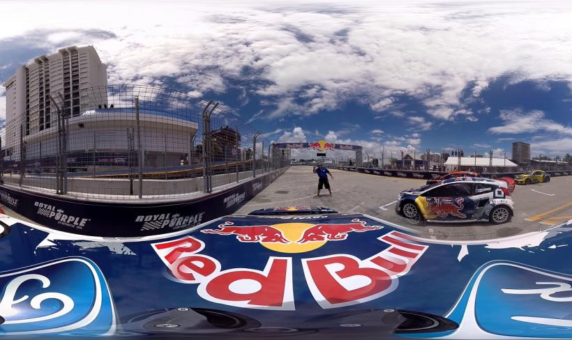 Red Bull Global Rallycross VR Experience