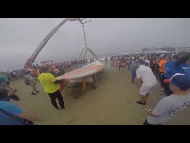 World Record Surfboard Ride