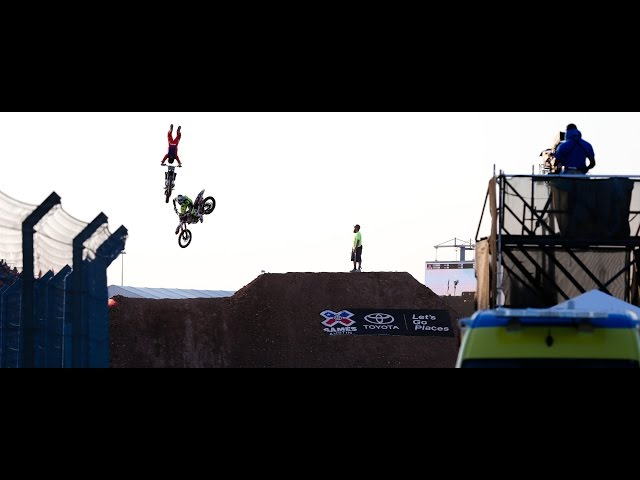 Nate Adams Winning Run At X Games Austin 2015