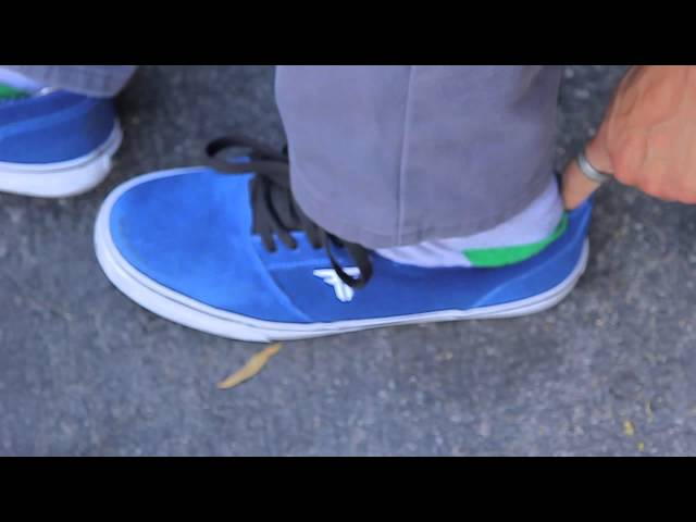 Fallen DOA shoe with  Joey Esteban