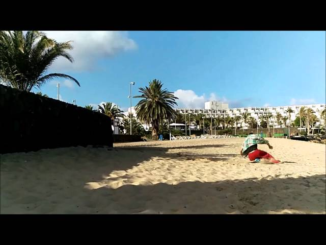free Running in Lanzarote 2015
