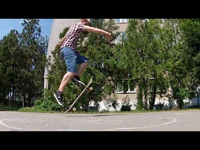 SKATEBOARDING TRICK 3: FS ANTI BIGSPIN