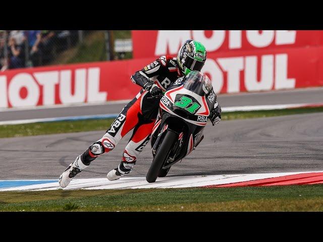 Niklas Ajo Finishes MotoGP Race Off Motorbike
