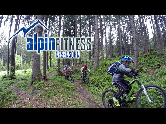 "KIDS learn how to Mountain Bike #6 ""HILLCLIMB"""