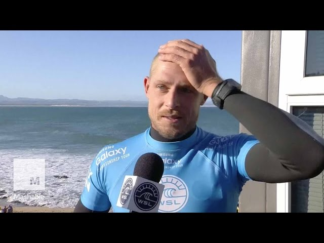 Mick Fanning's Interview After Shark Attack