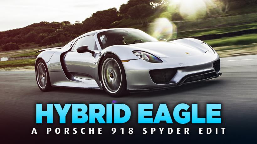 HYBRID EAGLE - A Porsche 918 Spyder Edit