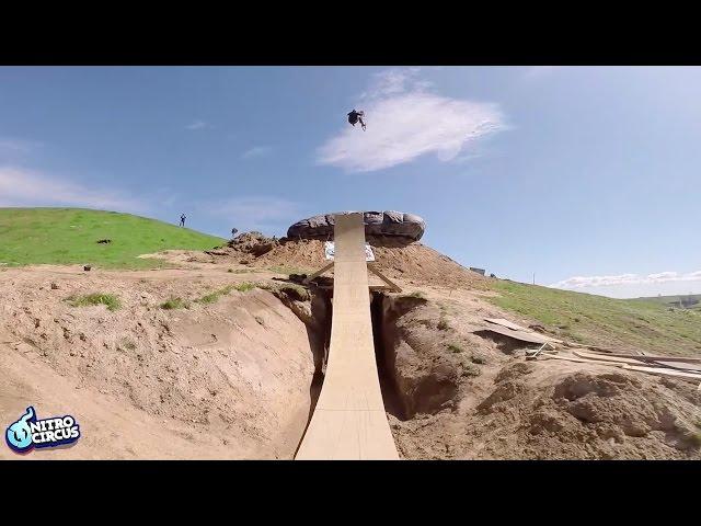 First Ever BMX Quad Flip