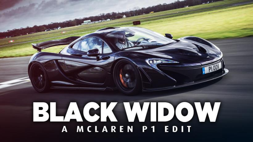 BLACK WIDOW - A McLaren P1 Edit