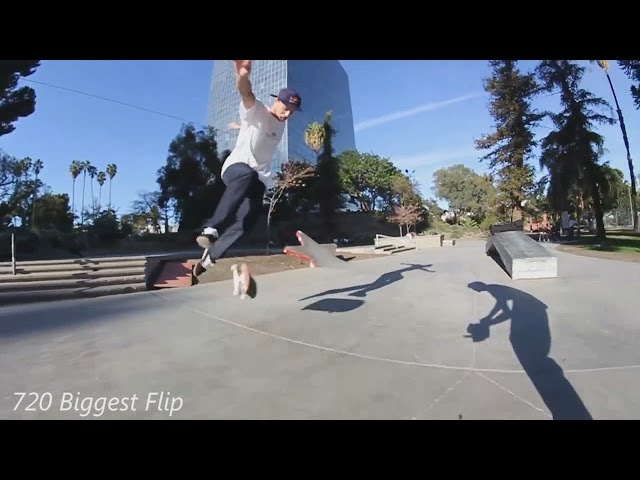 DIFFICULT FLATGROUND SKATEBOARDING TRICKS 2!