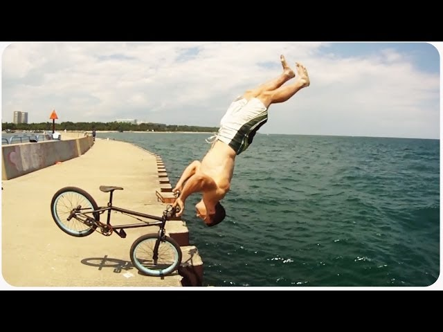 INSANE BMX Parkour Tricks Compilation