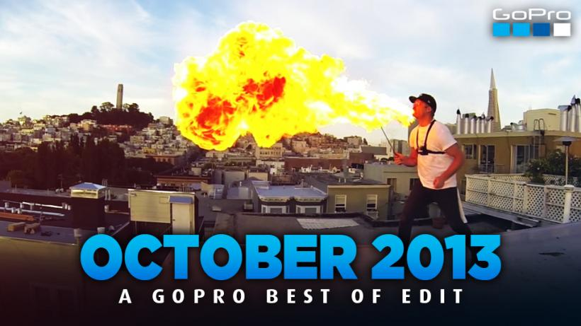 BEST OF OCTOBER 2013 - A GoPro Edit